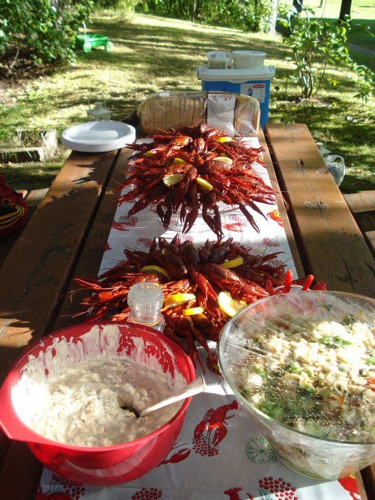 Crayfish party Finland 22.8.2015