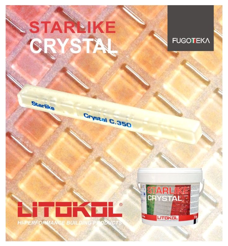 Litokol Crystal for glass mosaic
