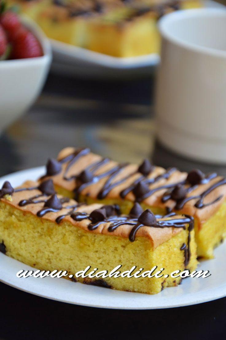 Diah Didi's Kitchen: Banana Chocochip Cake