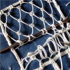 needle lace tutorial