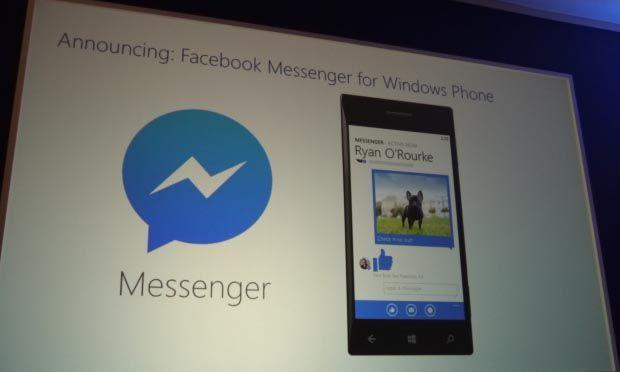 Facebook Messenger disponibile per Windows Phone 8