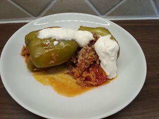 Dolma - fylte paprika