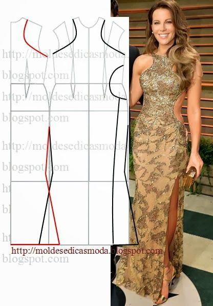 Plantillas de moda para la medida: TRANSFORMACIÓN DE VESTIDOS _91