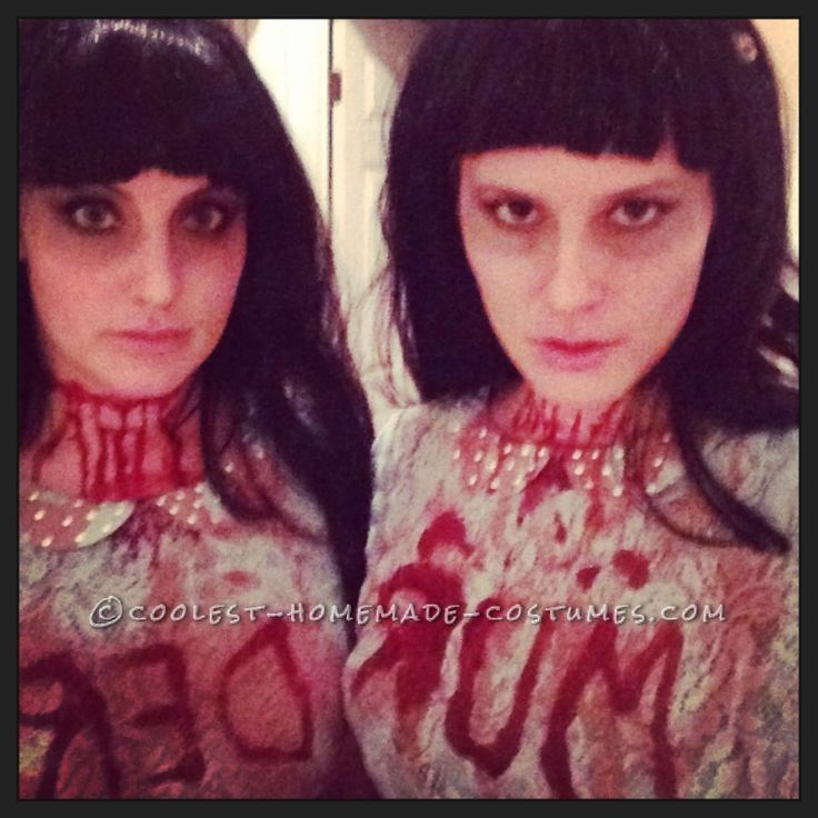 Scary Shining Twins Costumes