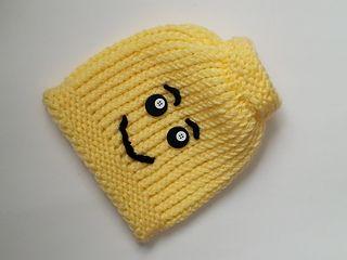 Ravelry: Loom Knit Lego Hat pattern by Denice Johnson
