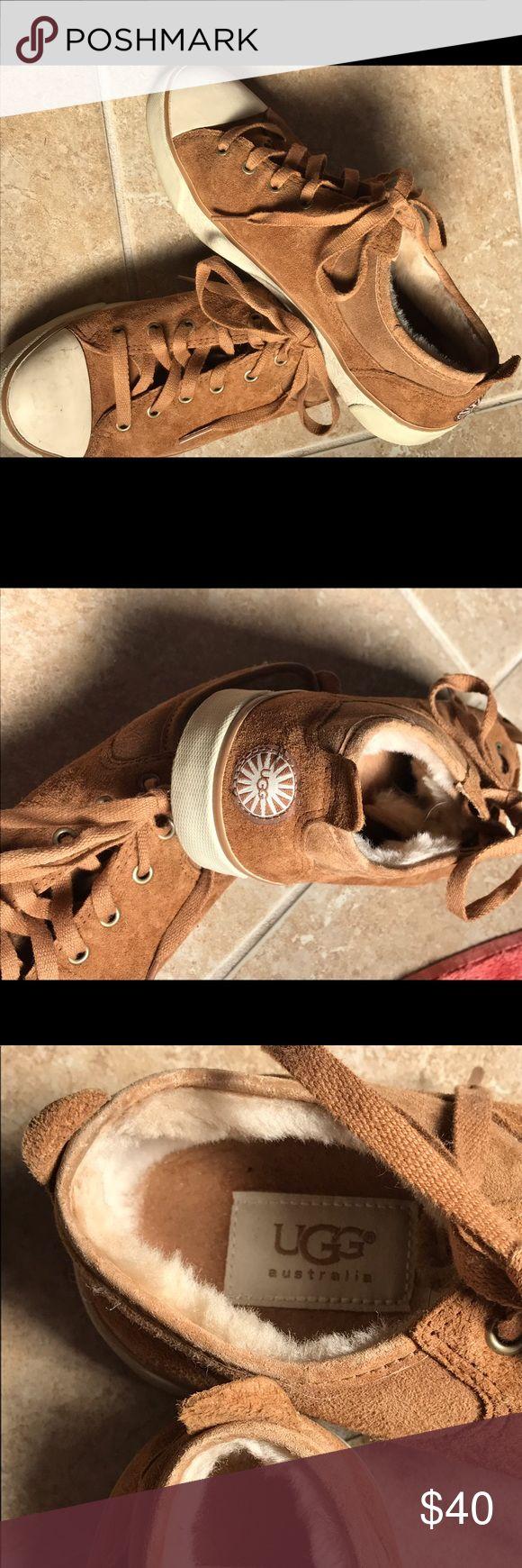 Ugg sneakers Tan suede Ugg sneakers UGG Shoes Sneakers