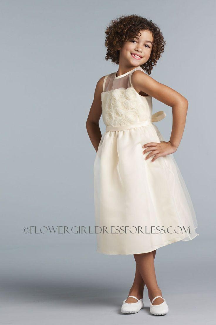 UA_100_BP - Us Angels Flower Girl Dress- Style 100- SALE- Blush Pink Color - Light Pinks - Flower Girl Dress For Less