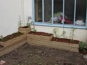 Bacs pour petit jardin