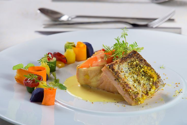 "Fish at ""Thalassa"" Restaurant"