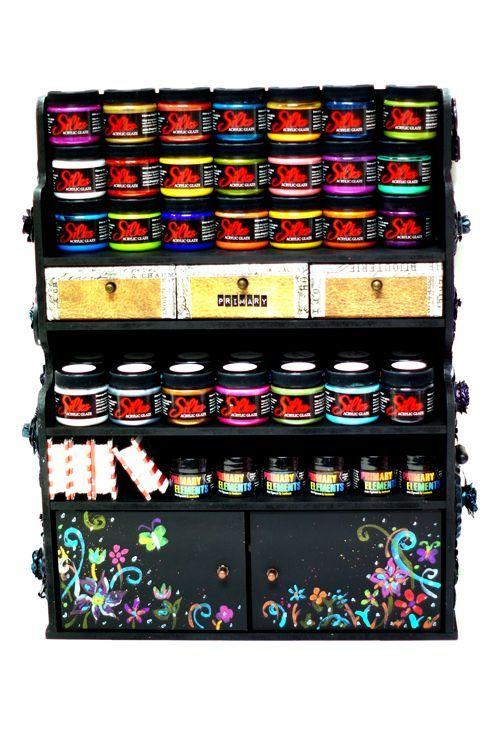 Paint Storage - Scrapbook.com