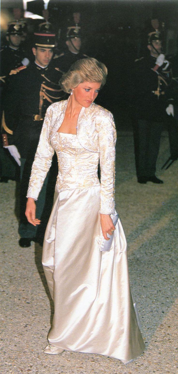 Princess Diana, One Day One Dress: 7th November 1988, Paris, France