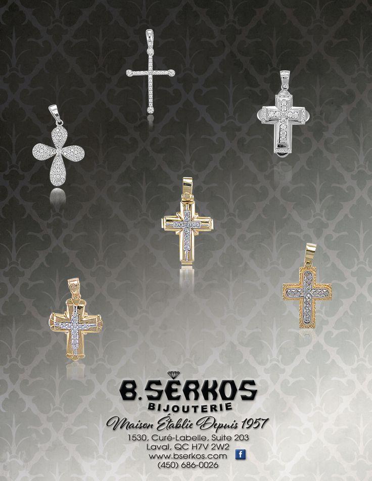 Big selection of beautiful and original crosses