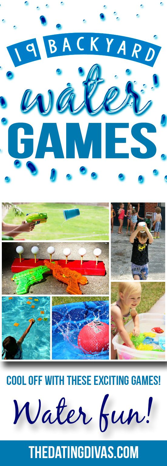 Water games for the whole family! The Dating Divas have SO many fun ideas here!