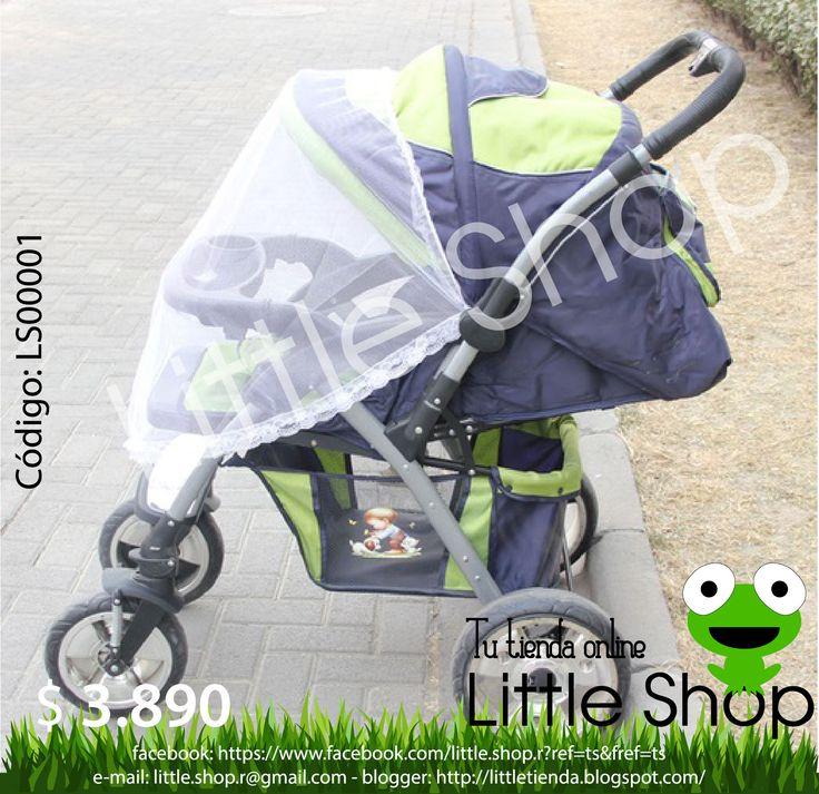 Protector de red, para mantener a los insectos lejos de su bebé. Se puede utilizar en coches y sillas. Posee extensiones elásticas fáciles de instalar. Especificaciones: •Material: poliéster. •Tamaño: 100x90 cm. •Color: blanco.