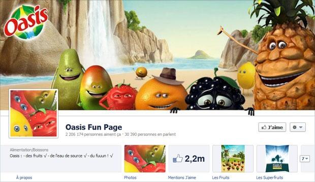 Oasis - Timeline Facebook