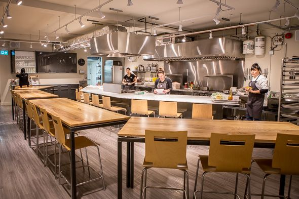 The best cooking classes in Toronto range from fun recreational workshops for home cooks to serious instruction geared towards budding chefs. Whether you want to reconnect with food sources by learning how to break down a whole beast or simply want to impress your guests at your next dinner party,...