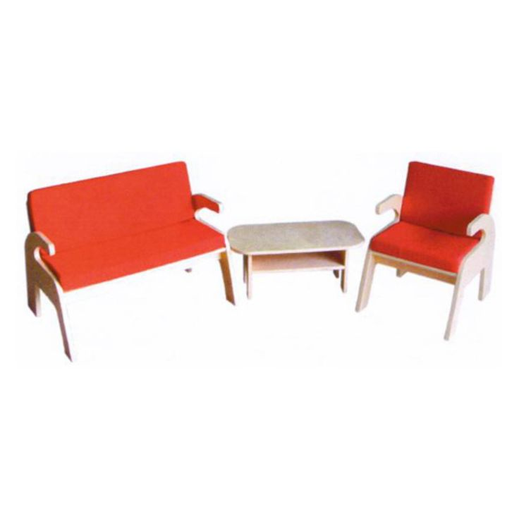 A+ Childsupply Padded Bench Combo - Daycare Tables & Chairs at Hayneedle