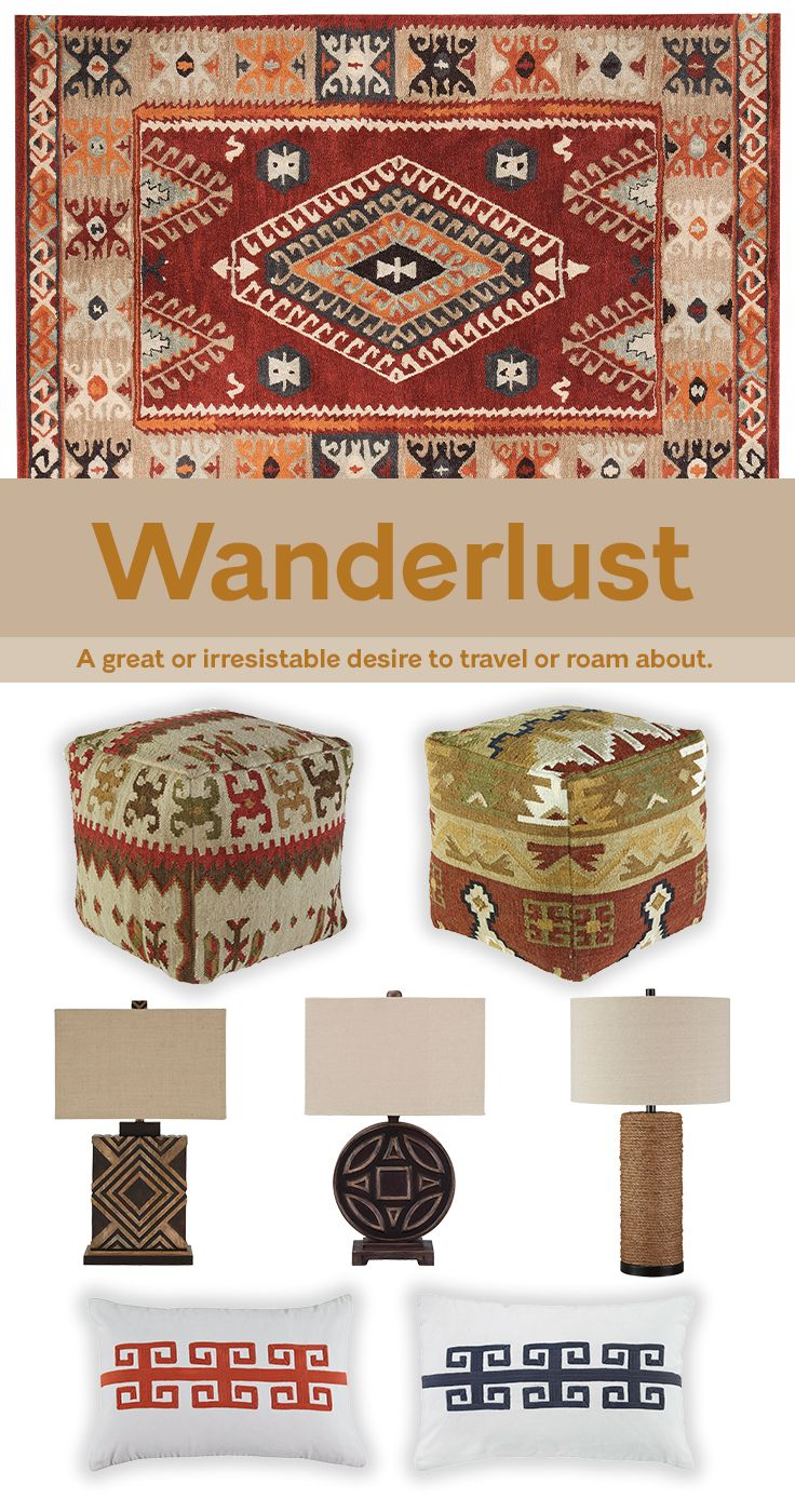 Crave adventure and long to travel the world? Check out our collection  favorites inspired by. PoufsWanderlust