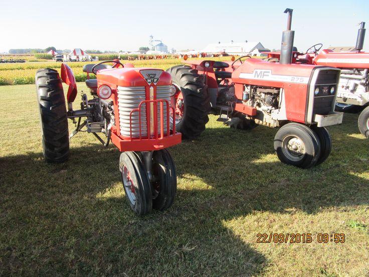 Massey Ferguson 50  U0026 275 Tricycle Tractors