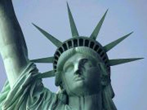 """Did you know: """"The seven rays on the crown of the Statue of Liberty represent the seven continents."""""""