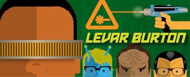 Nerdist Podcast: LeVar Burton   @Sarah Morefield Eagon @Andrew Davis