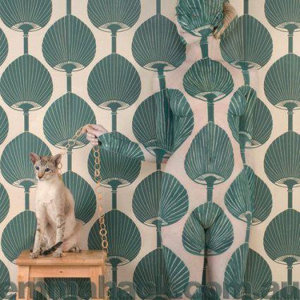 Wallpaper - Kabuki Feline