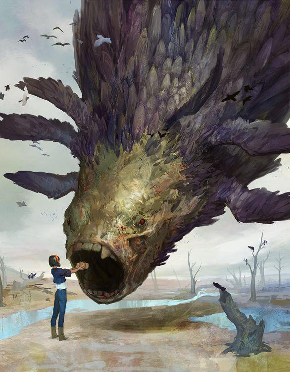 The Magpie God by LakeHurwitz.deviantart.com