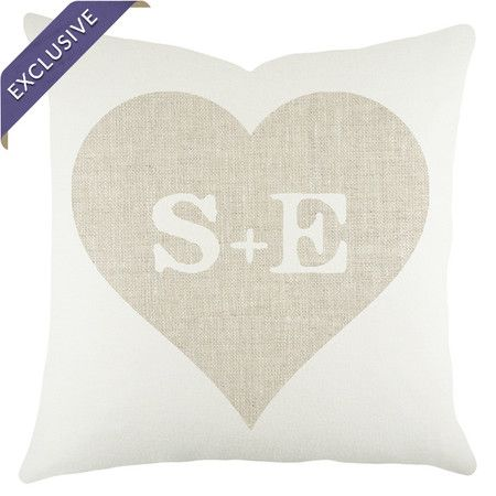 Personalized Heart Pillow at Joss and Main