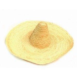 Chapeau mexicain sombrero adulte, Chapeau mexicain en paille naturelle adulte, accessoire déguisement, carnaval, fêtes déguisées. http://www.baiskadreams.com/428-chapeau-mexicain-sombrero-naturel-en-paille.html
