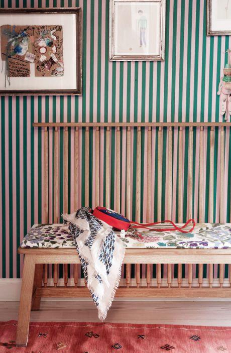 stripe / pattern / layered decor / Tina Seidenfaden Busck
