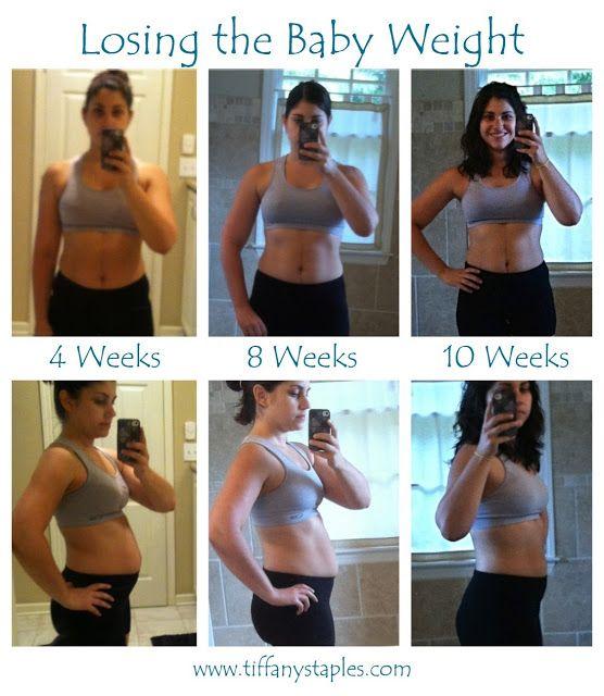 weight loss 10 weeks postpartum cramping