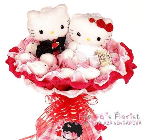 Wonderful Moment Bouquet Soft Toy Eternal Flower Bouquet. Eternal Flower for Eternal LOVE. Limited Stock.