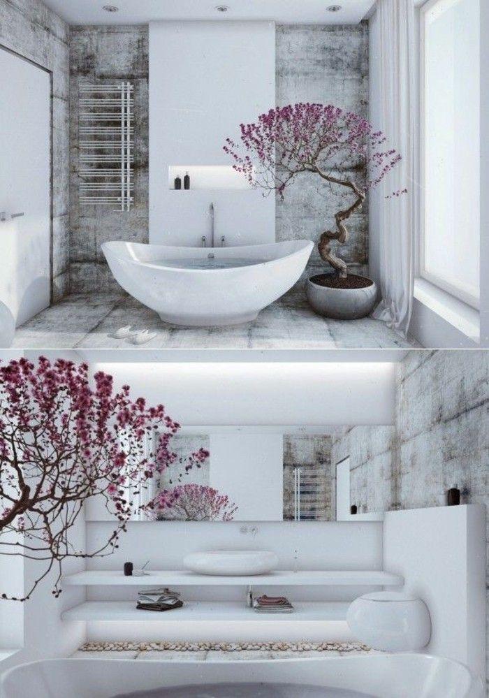Quel Couleur Pour Une Cuisine Moderne : salle de bain zen bambou deco chambre zen bambou ambiance zen dans la