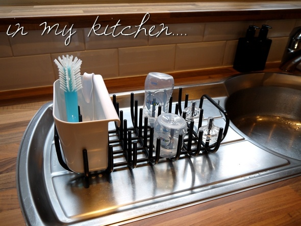 Baby bottle drying racks ikea boholmen drying rack can be for Kitchen drying rack ikea