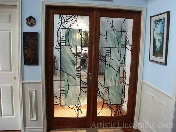 53 best images about doors on pinterest exterior doors - Exterior glass panel french doors ...