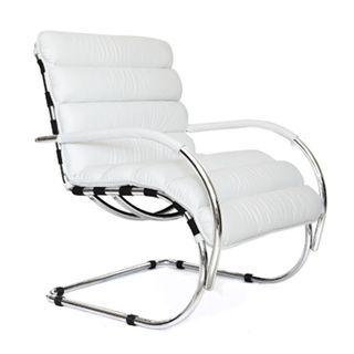 check out the whiteline modern living ch1119lwht verona white leather chair in chrome