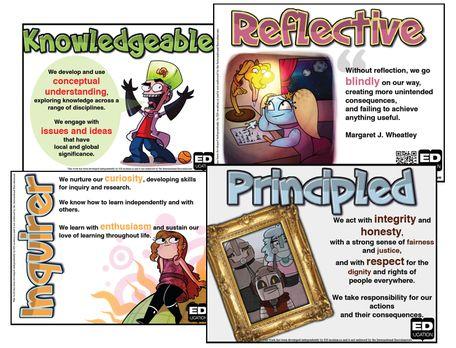 Free IB Learner Profile Posters - ED-ucation Publishing