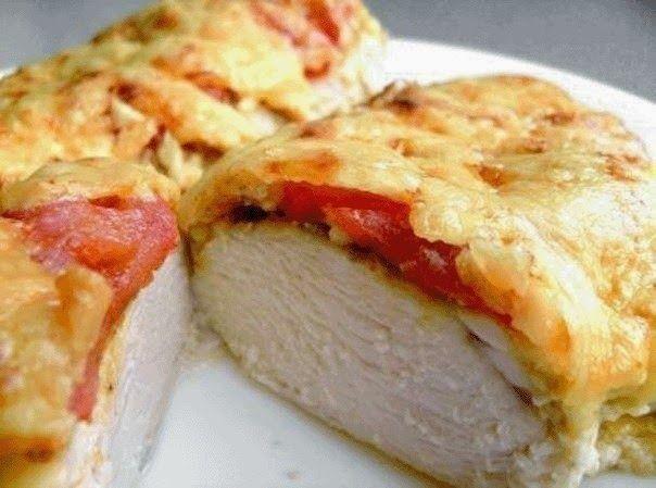Лучшие кулинарные рецепты: Просто восхитительная курица в сливках и сыре