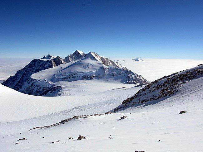 Vinson Massif, Antarctica.  16,050 ft