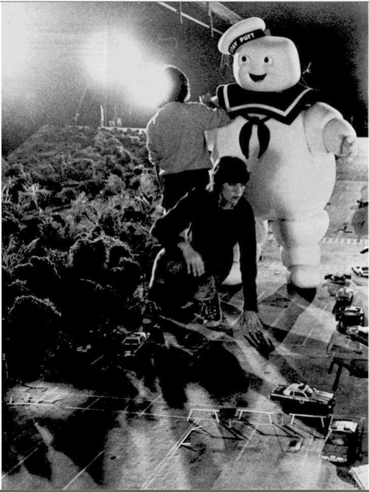 35 fotos de bastidores do filme Os Caça-Fantasmas (1984) - Assuntos Criativos