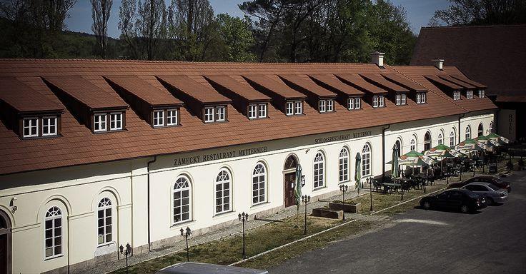 Zámecký restaurant a hotel Metternich u zámku Kynžvart