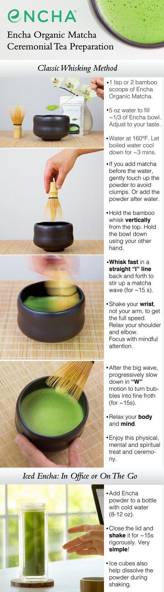 How to whisk matcha tea with Encha ceremonial organic #matcha #sugardetox