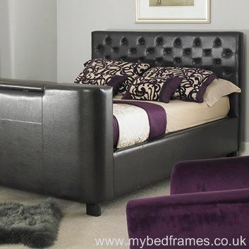 Mirage Faux Leather TV Bed