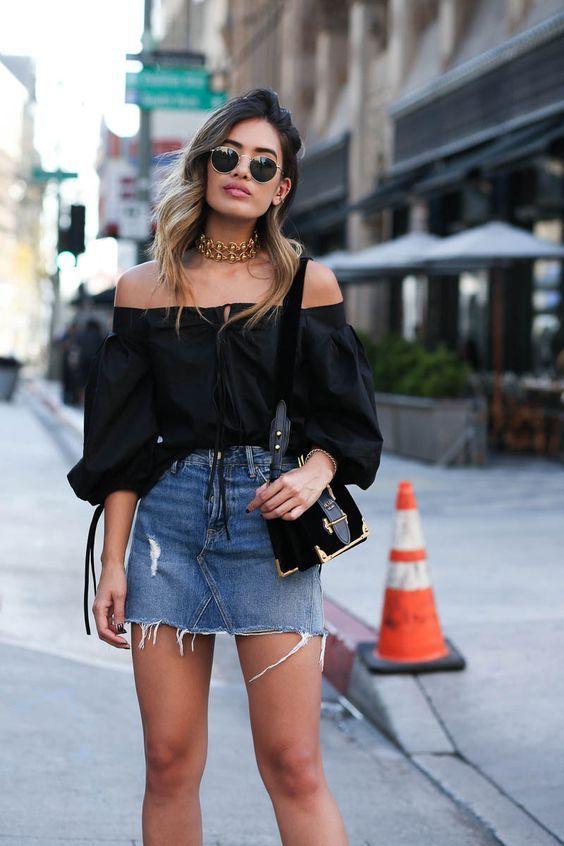 Looks básicos de verão: 8 combinações simples e estilosas   Looks, Looks casuais femininos, Moda