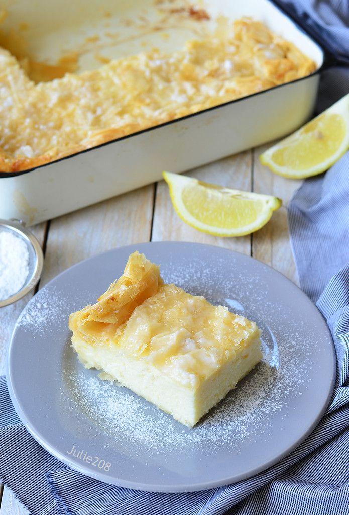 """Название десерта """"Галактобуреко"""" в буквальном смысле означает """"молочный пирог"""". Блюдо, родом из Греции, состоит из тонкого теста фило, пропитанного…"""