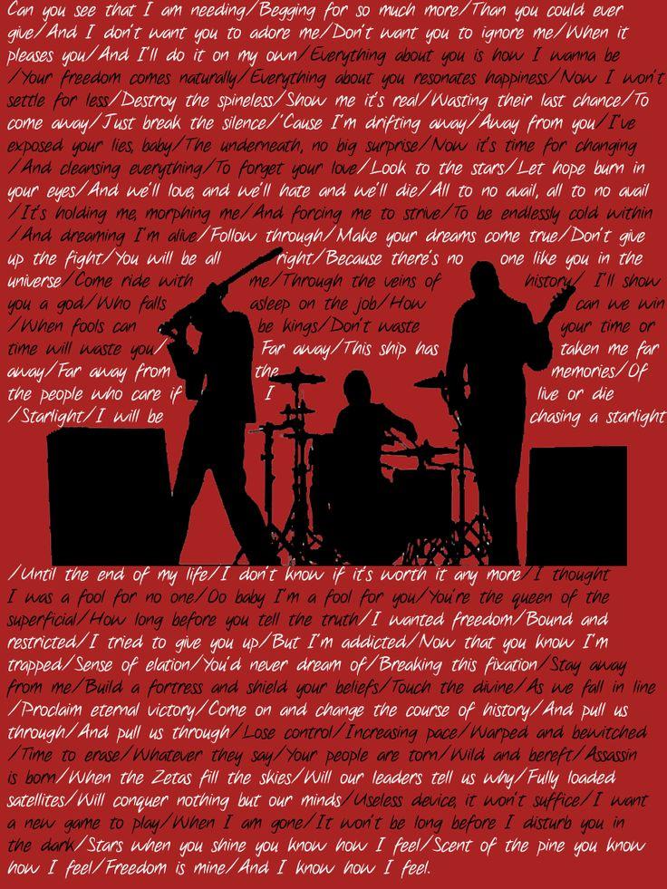 Muse lyrics