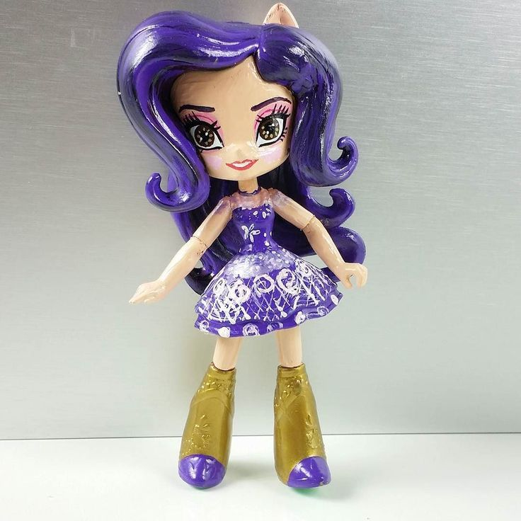 Toys That Start With B : Custom mal disney the descendants doll from mlp fluttershy