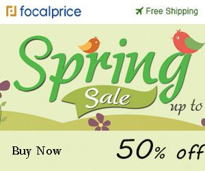 UP TO 50% OFF Spring Sale,Free Shipping -focalprice.com