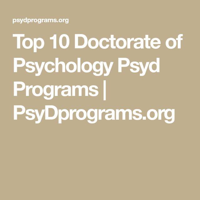 Top 10 Doctorate of Psychology Psyd Programs | PsyDprograms.org
