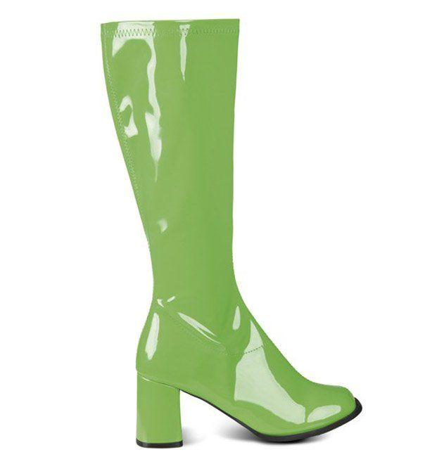 Deze groene laarzen voor vrouwen zullen ideaal geschikt zijn ter aanvulling van uw disco carnavalskleding! - Nu verkrijgbaar op Vegaoo.nl